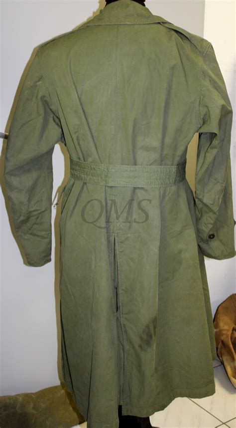 US ARMY WW2 Officer Trench Coat