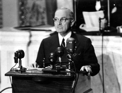 Marching to victory: Truman confirms Hitler's death in