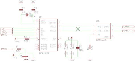 Problem mit CAN Interface MCP2515/2551 - Mikrocontroller