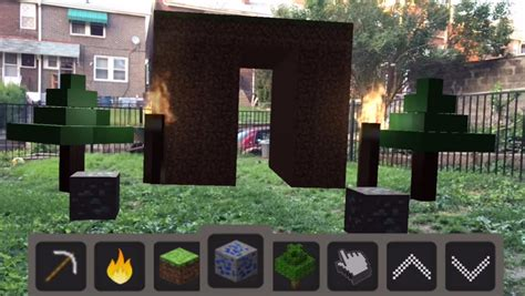 Someone built Minecraft AR with Apple's ARKit, and it