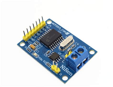 MCP2515 CAN Bus Module Board TJA1050 Receiver SPI For 51