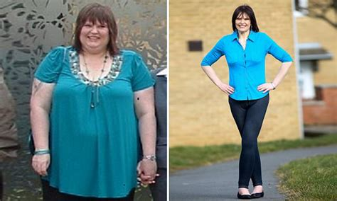 Size 30 woman drops incredible 12 stone after giving up