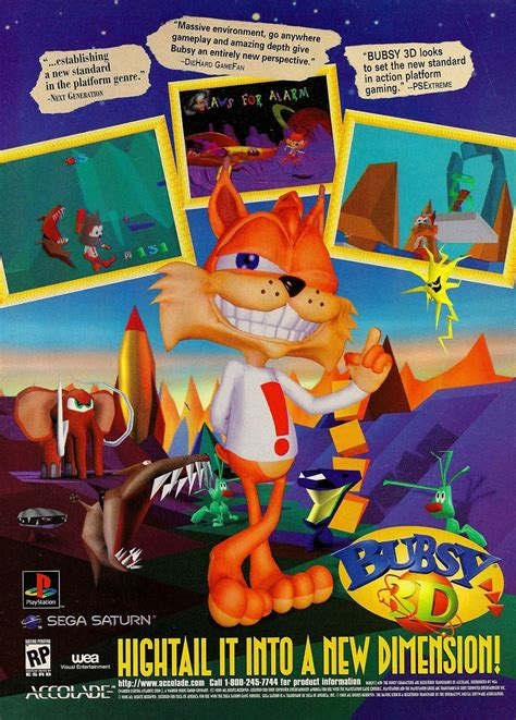 Disaster Report: Bubsy 3D (PS1) - The Game Hoard