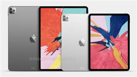 iPad Pro 2020: Renders give a glimpse of two Q1 2020-bound