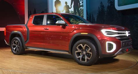 VW Atlas Pickup is soon expected to prove its production