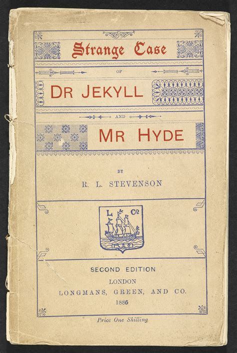 Strange Case of Dr Jekyll and Mr Hyde - The British Library