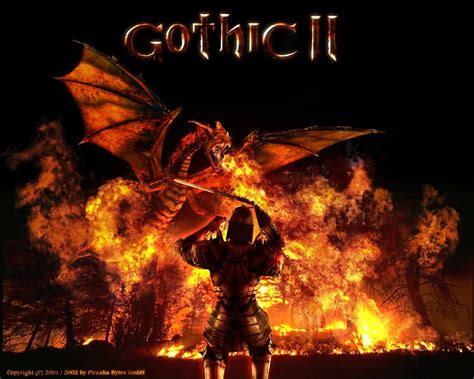 3 Gothic II HD Wallpapers | Backgrounds - Wallpaper Abyss