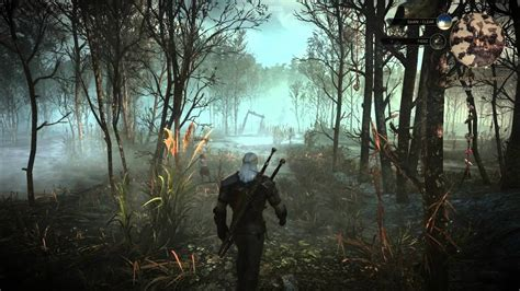 The Witcher 3: Wild Hunt - E3 Swamps Gameplay - Eurogamer