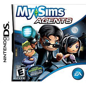 MySims Agents DS Game