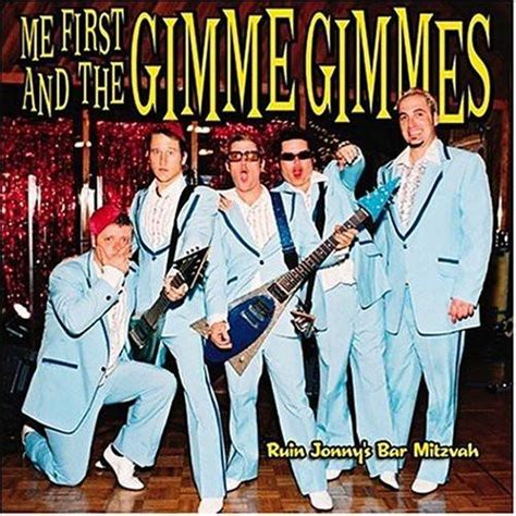 Me First And The Gimme Gimmes-Ruin Johnny's Bar Mitzvah