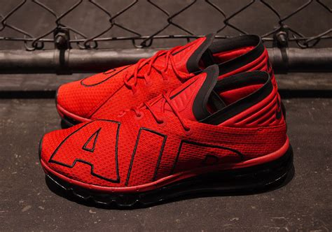 Check Out This Red And Black Nike Air Max Flair